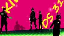 Бэтмен семья палец песня, танцевальная музыка бонус, Человек-паук и Халк