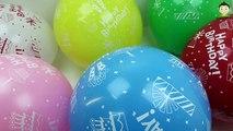 Birthday Balloons Popping For Kids Bunch o Balloons Popping Show Learn Colors Balloons Baby Song Fun