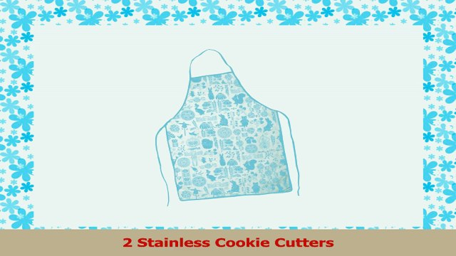 Peter Rabbit Baking Gift Set by Meri Meri Apron Spatula Cookie Cutters Cupcake aef13f9e