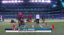 A.J. Green (Georgia, WR) _ 2011 NFL Combine Highlights-QOf6wNpy6f4