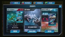 Max Sea Dino Monster Fighting - Jurassic World The Game