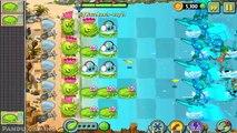 Растения против зомби 2 / большая Пляжная волна день 21-24 / геймплей прохождение iOS/андроида