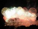 Feu d'artifice 14 juillet - Carcassonne
