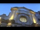 Napoli - Riapre la chiesa di San Carlo alle Mortelle (24.02.17)
