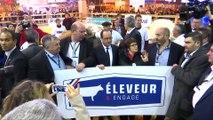 France's Hollande opens his last Paris farm show