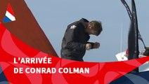 J110 : L'arrivée de Conrad Colman / Vendée Globe