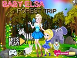 Bebé Elsa Bosque de Viaje: la princesa de Disney Congelado Bebé Mejor Juegos Para Chicas