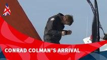 D110 : Conrad Colman's arrival / Vendée Globe
