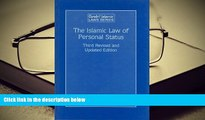 BEST PDF  The Islamic Law of Personal Status: (Arab and Islamic Laws, Volume 23) (Arab   Islamic