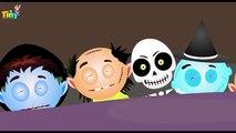 ten in the bed | halloween song | scary rhymes | nursery rhymes | childrens rhymes