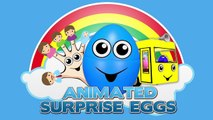 Aprender los Colores para niños, Aprender los Colores Para los Niños Pequeños 3D Huevos Sorpresa Color Tan