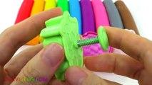 Aprender los Colores Plastilina Bolas de Frutas de Fresa Moldes Creativas y Divertidas para los Niños EggVideos.co