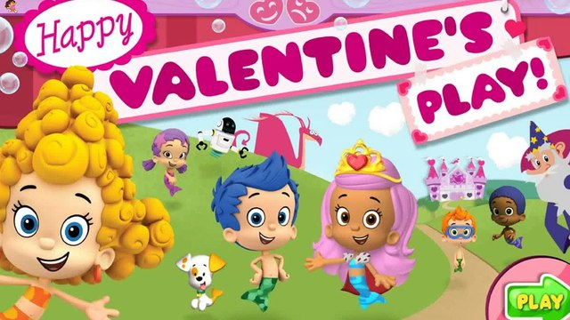 Bubble Guppies Happy Valentines Play - new Bubble Guppies Games