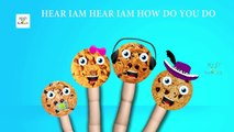 Colors Lollipop Wild Animals Finger Family Nursery Rhymes | Surprise Eggs Animals Finger F