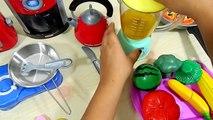 Cocina de juguete de Velcro frutas verduras Pretender cocinar Tostadas del Desayuno Almuerzo Jugo de Lavado U
