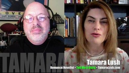 INTERVIEW Tamara Lush, romance novelist, Tell Me a Story, Hot Shade