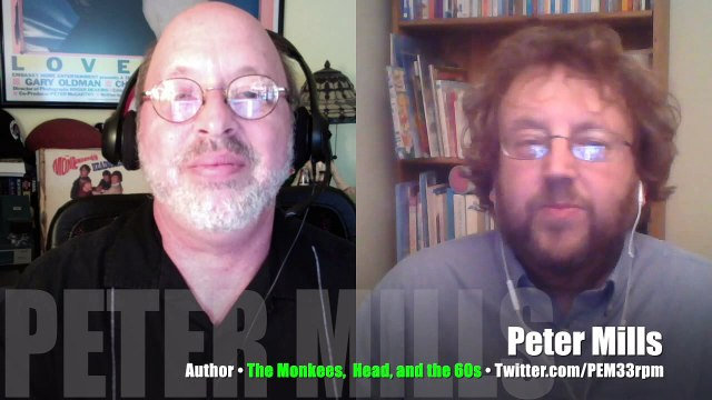 INTERVIEW Peter Mills, author,  The Monkees, Head, and the 60s