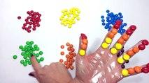 Colorido PEZ Dedo Aprender los Colores de la Colección arco iris Dedo de la Familia Rima de cuarto de niños Compila
