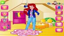 Las Princesas de Disney Elsa Ariel y el Jazmín de la Princesa de la Agencia de Modelo Juego de Vestir Para Niñas