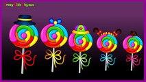 Lollipop Finger Family Nursery Rhyme | Finger Family Lollipop Family Rhymes Songs NEW