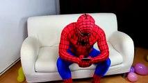 Frozen Elsa Ballon Prank and more Funny Superhero In Real Life Movies w Spiderman Hulk & M