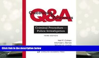 BEST PDF  Questions   Answers: Criminal Procedure--Police Investigation READ ONLINE