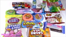 Candy BONANZA 9! KaDunks Baby Bottle POP 2D Hubba Bubble Tape M&Ms Ice Cream Jelly Belly! FUN
