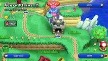 New Super Mario Bros. U   Crushing-Cogs Tower - Acorn Plains-Tower - 3 (Wii U Gameplay Wal