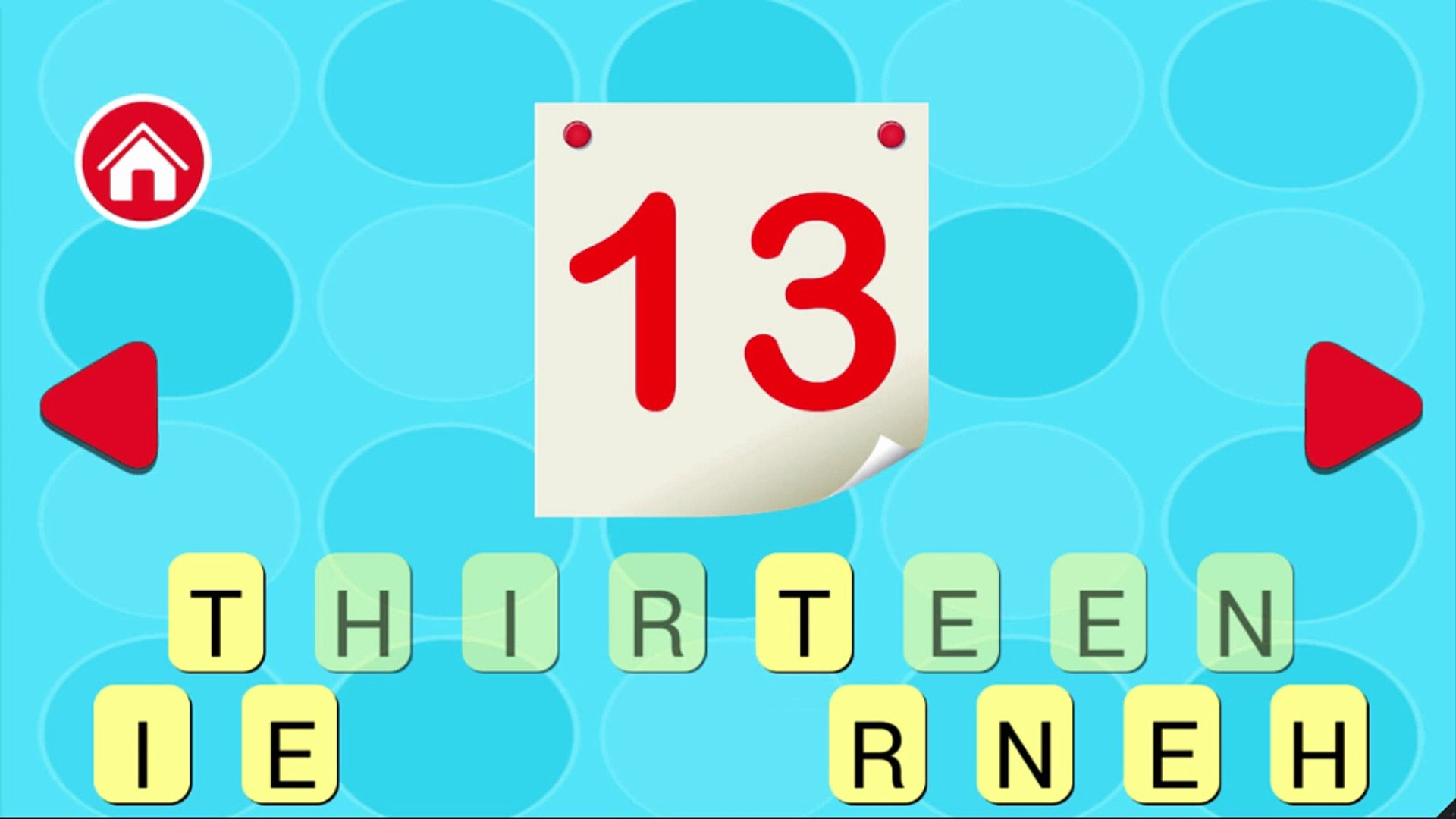 Endless Numbers counting 1 to 25 | Learn 123 number for kids - Education for kids