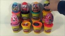 Surprise Eggs Человек Паук Микки Маус И Мини Маус D