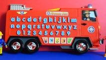 Fireman sam Talking learning toy Fireman sam toys Jupiter fire engine Fireman truck