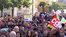 A Nantes, des heurts en marge d'une manifestation contre la venue de Marine Le Pen
