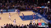 Carmelo Anthony tue les Knicks à 0.3 seconde de la fin !