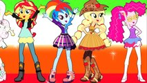My Little Pony: Equestria Girls Coloring Book - Rainbow Rocks - Friendship Through the Ages