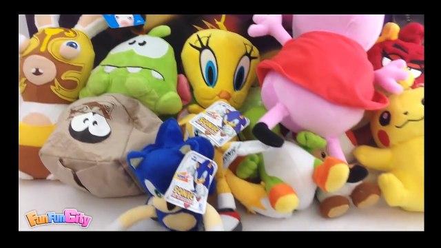 Cut The Rope, Fruit Ninja, Peppa Pig, Pokemon Pikachu, Sonic, Tails, Yoshi, Toad, Rabbids Invasion