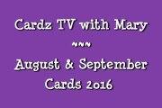 CARDZ TV AUGUST & SEPTEMBERdc