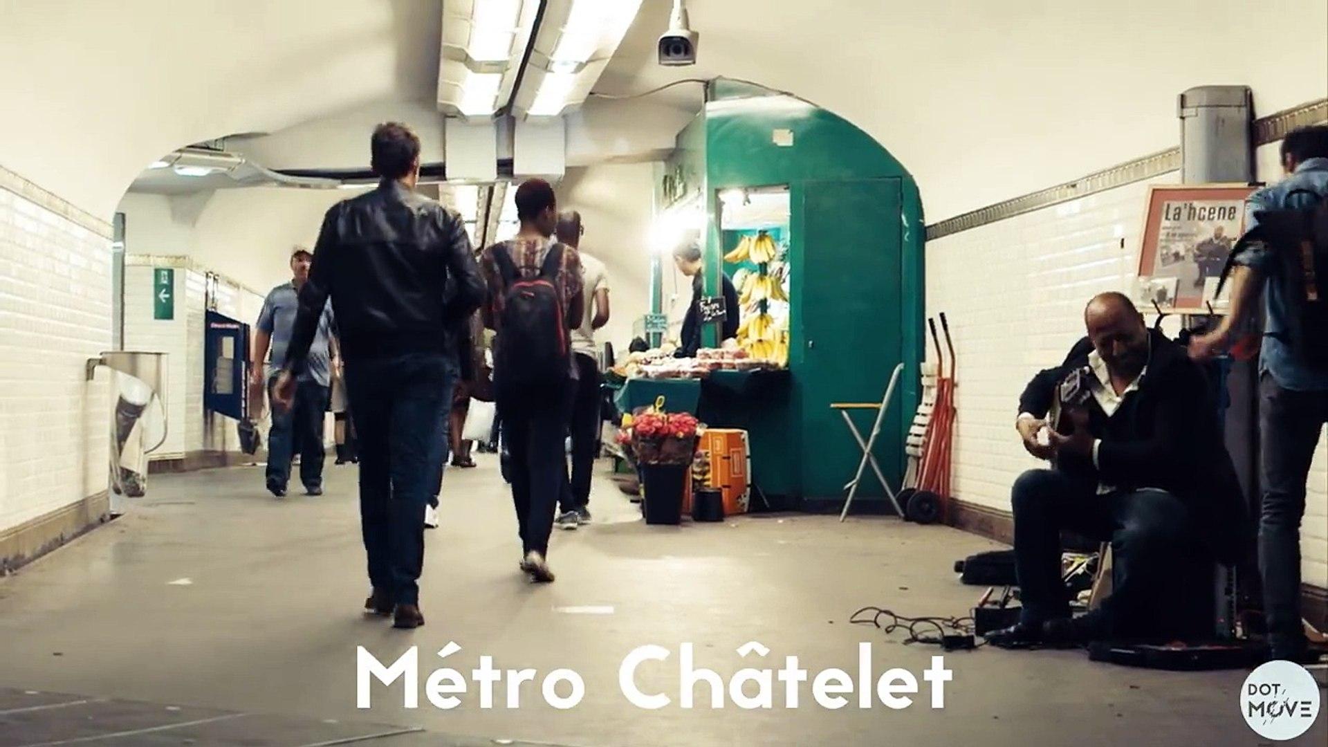 When Dancers Meet Subway Musicians in Paris