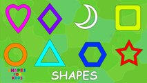 Learn shapes │ How to draw Shapes │ Learn to draw shapes for kids │ #nurseryrhymes