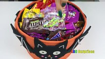 Learn to Count with Candy Skittles M&M Snickers Butterfinger Shopkins Egg Surprise Toys learn colors