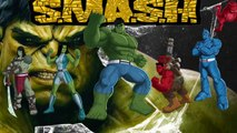 Hulk smash & Disney cars Lightning McQueen Nursery Rhymes Children Songs