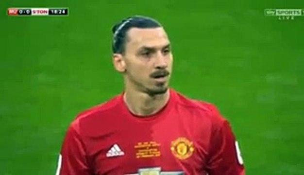 Zlatan Ibrahimovic Free-Kick Goal HD - Manchester United 1-0 Southampton 26.02.2017