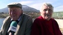 Hautes-Alpes : ambiance printanière sur les berges du lac de Pelleautier