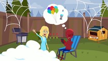 Frozen Elsa Turns Into A Frog With Fly Spiderman Prank Family Fun Superhero Movie In Real Life In 4K