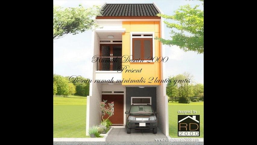 Renovasi Rumah Minimalis 2 Lantai Type 36  desain rumah minimalis 2 lantai gratis rumah desain 2000