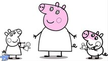 Свинка Пеппа Раскраска. Новая серия - Мама Свинка Работает. Peppa Pig Coloring. Mummy Pig