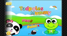 Tadpoles Mummy by BabyBus panda HD Gameplay app android apk apps learning education