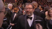 """""""La dernière fois que Natalie Portman était aux Oscars ça lui a porté bonheur!"""" Interview de Vincent Maraval - Tapis Rouge Oscars 2017"""