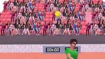 Fútbol, Pelota De Tenis, De Baloncesto Y Pelota De Cricket Canto Dedo De La Familia De Los Niños De La Guardería