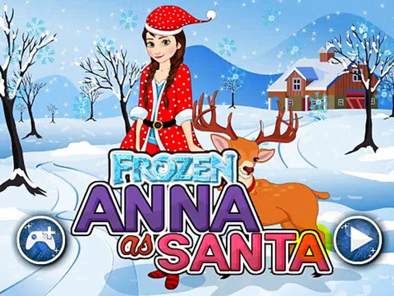 Игра Принцесса Анна Санта-Играть Принцесса Игры Санта Анна