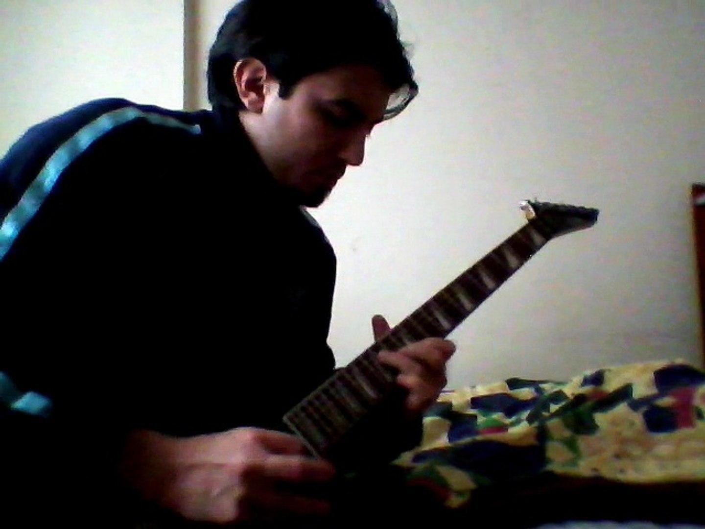 Electric guitar Heavy Metal Fast Rhythm Riffs Technique